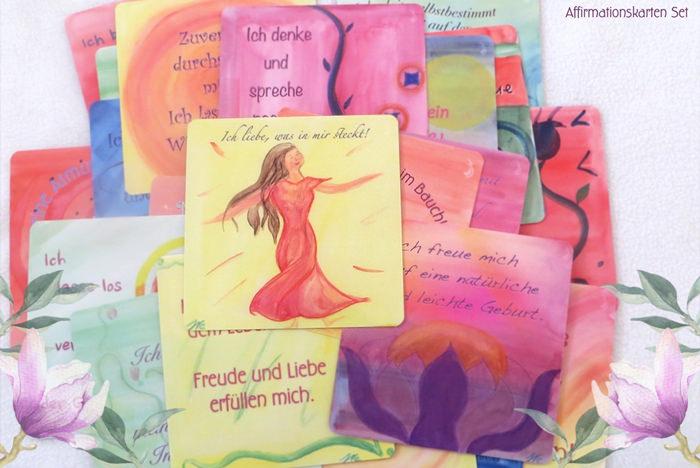 Positive Birth Affirmationskarten
